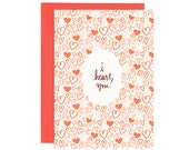 I Heart You Illustrated Greeting Card