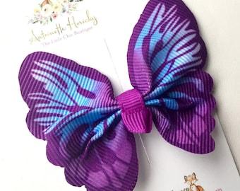 Butterfly Girls Hair Clippie
