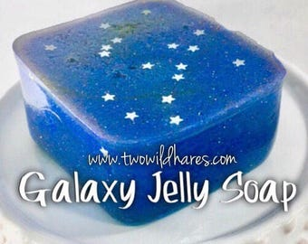 GALAXY JELLY SOAP, A Fruity Out of this World Fragrance! 2oz