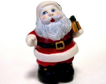 "Penny doll 3"" Porcelain  Santa with presents"