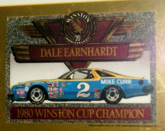 Winston Cup racing  20TH Anniversary Gold Cards