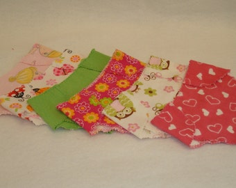 """15"""" Baby Doll Clothes/Made to fit Bitty Baby/Half Dozen Diapers/READY TO SHIP"""