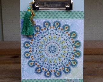 Bohemian Clip Board Small