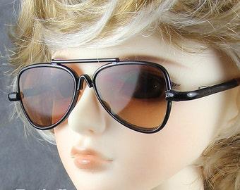 New fashion Dolls Sun Glasses fit 1/3 BJD SD Super Dollfie Silver