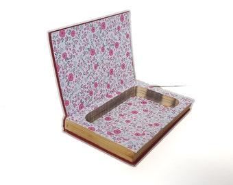 Hollow Book Safe The Little Princesses Cloth Bound vintage Secret Compartment Security hiding place