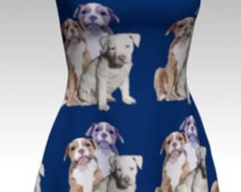 Pitbull Puppies Dress