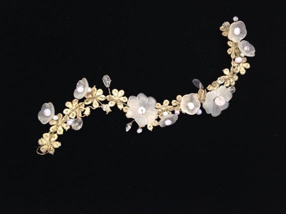 Wedding head piece Brisa