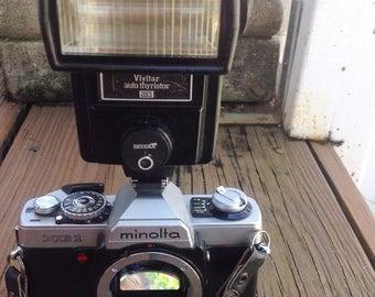 SPRING SALE Vintage Minolta XG1 35 mm camera. Vintage camera, vintage photography, vintage photographer.