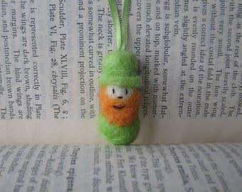 Little Rollie Leprechaun Ribbon Necklace
