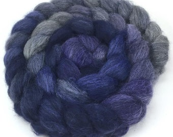 Baby Alpaca Combed Top - Purple Haze