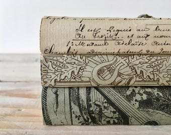 French vintage book bundle
