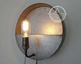 PLUG IN Pocket Sconce Wall Sconce Light - Farmhouse Flush Mount Lighting Fixture LampGoods Pendant Chandelier Track  Rustic Country Kitchen