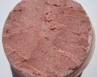 Baby Pink Eye Shadow| Golden-Pink Shimmer Vegan Cruelty Free Mineral Eye Shadow - Sugared Roses