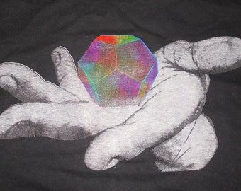 T-Shirt - Universal Potential (Rainbow on Black)