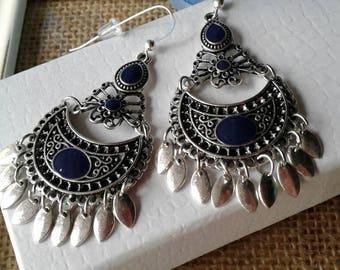 Bohemian Moon Earrings