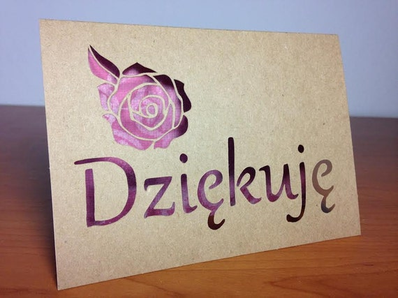 how to say thank you in polish