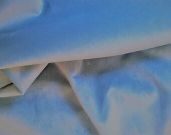 Light AQUA Green PLUSH Backed VELVET Upholstery Fabric, 29-14-04-0516