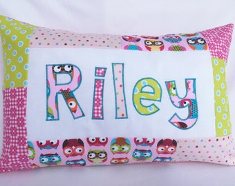 Owls - Personalized Pillow