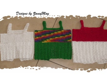 Toddlers to Child Size Simple Crochet Top pattern in pdf