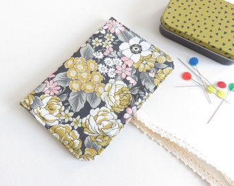 Cotton Fabric Needle Case.