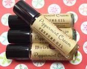 Peppermint Cream Perfume Oil - Roll On Perfume Oil, Roller Perfume Oil
