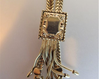 Pretty Vintage Victorian Style Long Slide Necklace