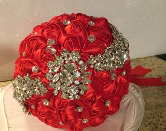 Read brooch bouquet  free shipping