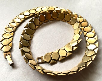 Vintage Art Deco Articulated Necklace Chain