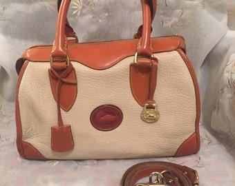 Vintage Dooney Bourke Gladstone Handbag Classic Fashion Style