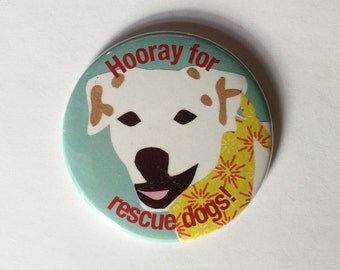 Rescue Dog Magnet