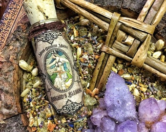 IMBOLC Brighid's Blessings~ Goddess Incense~ Imbolc Incense~ Honor Brighid and her Sacred Flame ~ Imbolc Magick ~ 1oz Jar