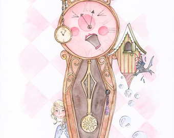 It's About Time Limited Edition Giclee Print