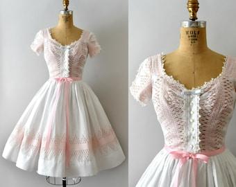 RESERVED LISTING -- Vintage 1950s Dress