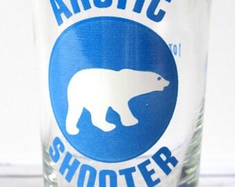 VINTAGE - Polar Bear Arctic Shooter Shot Glass - Collectible