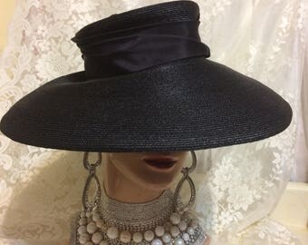 Big Synthetic Straw Hat