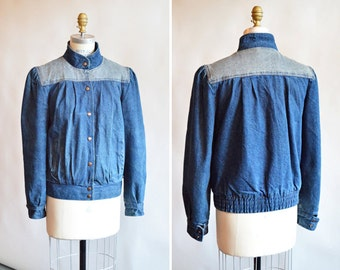 Vintage 1980s DENIM jacket