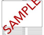 Tech Pack Lead Sheet Template