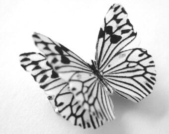 Butterfly Clip - Zebra Accessories - Womens Zebra Gift Her - Kids Child Children Adult Womens Zebra Costume Cosplay - Zebra Print Hair Clip