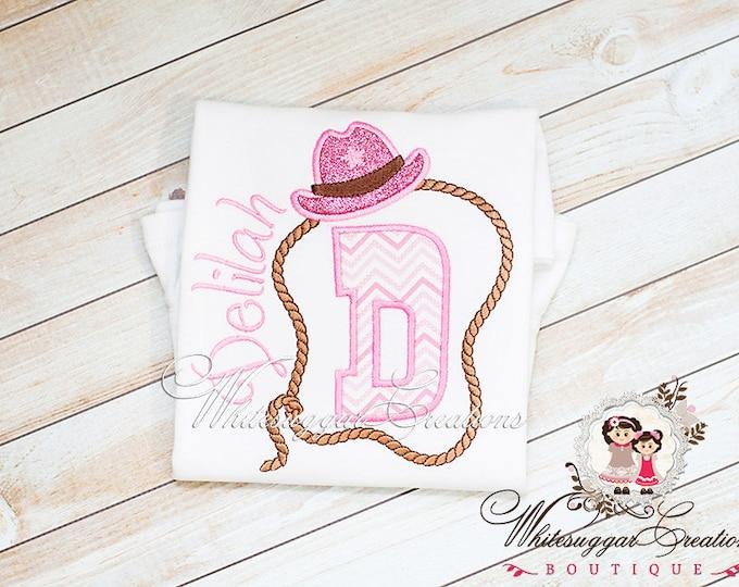 Girls Rodeo Shirt - Cowgirl Shirt - Personalized Sheriff Shirt - Sheriff Outfit - Baby Girl Shirt