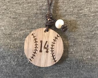 Baseball/Softball Necklace