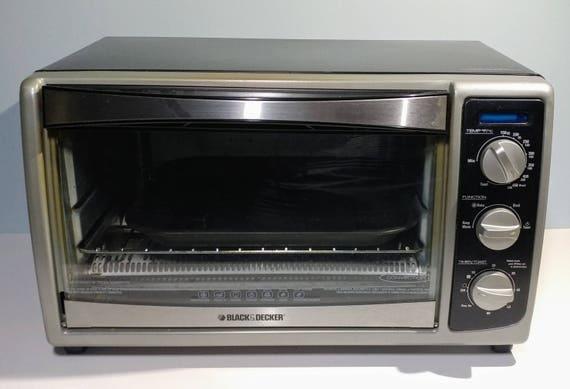 black decker convection countertop toaster oven manual bake
