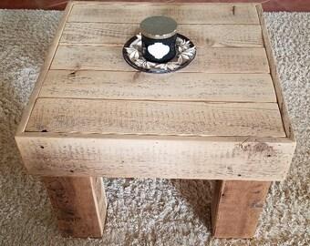 Small Reclaimed Barn Wood Coffee Table