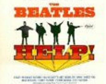 The Beatles - Help - Rare Collector's First Edition in Mono - Vintage Vinyl Record LP in Excellent Plus Condition