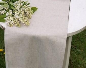 """Table runner Rustic Weddings Table Runner Linen Table Runner Rustic Table Runner - 14"""" x 56 1/2"""""""