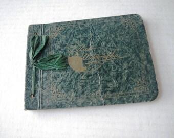 1939 Majeske School Detroit Michigan John Dosen Autograph Book