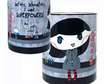 Superpowers Lab Science Mug | Funny Mug | Quote Mug