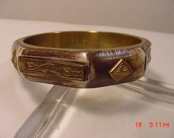Vintage Bangle Bracelet   16 - 849