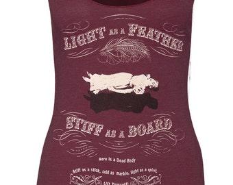 LIGHT AS A FEATHER Racerback Tank