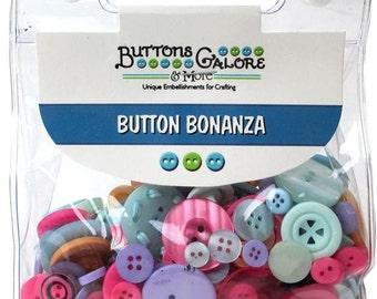 Bulk Buttons Assortment Galore Button Bonanza 8oz Sherbet Hand Dyed Luscious Sewing Knitting Crafts Jewelry