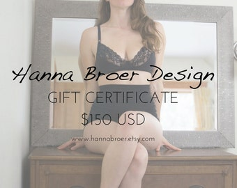 Gift Certificate - 150 USD